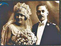 Boda de Rafael Leonidas Trujillo Molina y Bienvenida Ricardo . Monte Cristi, Republica Dominicana. 1927