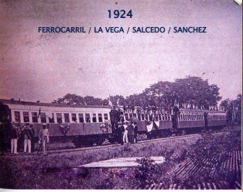 Ferrocarril La Vega - Salcedo - Moca, R.D 1924 AGN