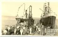 Puerto de Barahona, Barahona , Republica Dominicana. 1939 Fuente : Imagen cortesia de La Sra. Margarita Cataldi para Imagenes de Nuestra Historia.